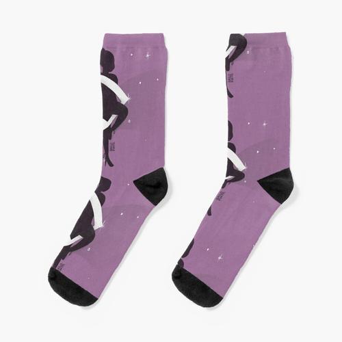 Ballerina mit Noten Socken