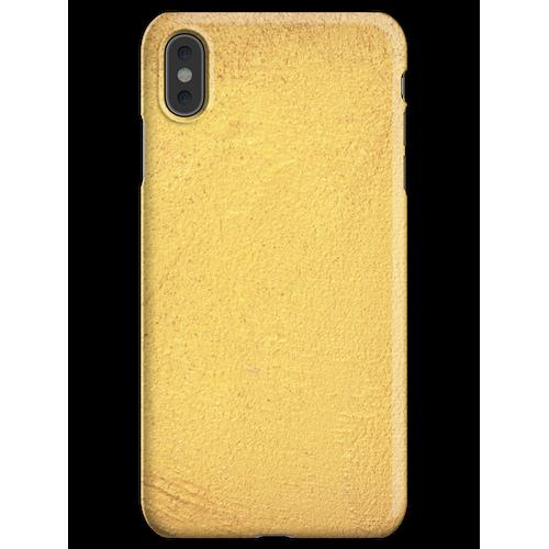 Goldmetallische Folie iPhone XS Max Handyhülle