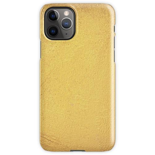 Goldmetallische Folie iPhone 11 Pro Handyhülle