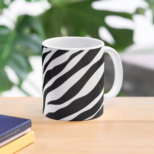 Zebra-Muster Tasse