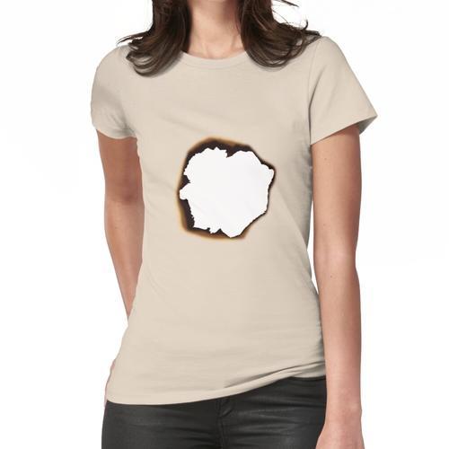 Verbranntes Loch Frauen T-Shirt
