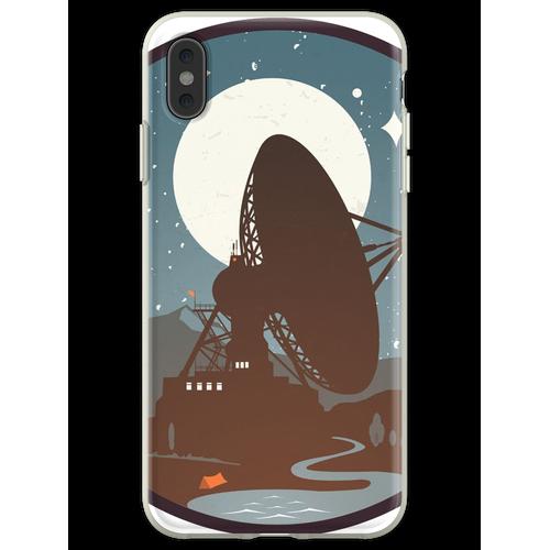 Satellitenschüssel Flexible Hülle für iPhone XS Max