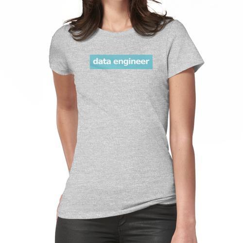 Dateningenieur - Blau Frauen T-Shirt