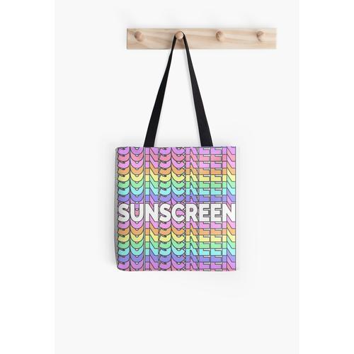 Sonnencreme Tasche