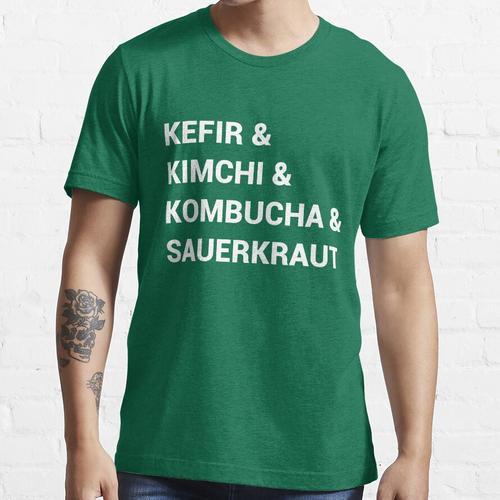 Lustige gegorene Lebensmittel Essential T-Shirt