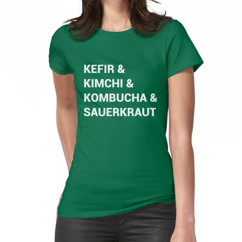 Lustige gegorene Lebensmittel Frauen T-Shirt