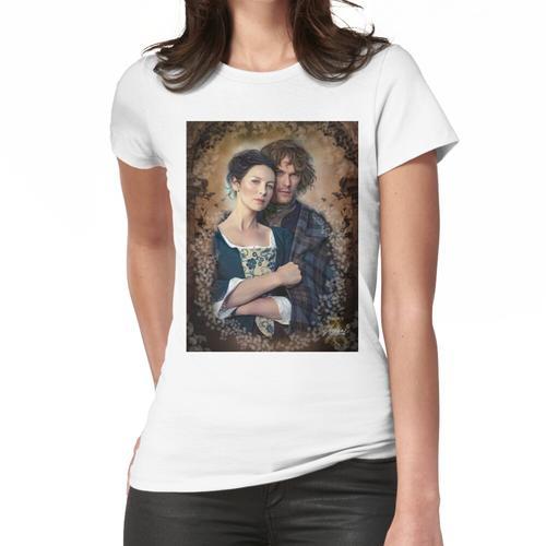Beleuchtetes Herz Frauen T-Shirt