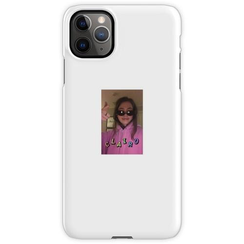 Clairo in einer Brille iPhone 11 Pro Max Handyhülle