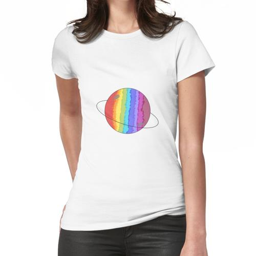 Regenbogenplanet Frauen T-Shirt