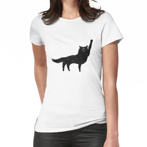 Canis Lupus - Aufkleber Frauen T-Shirt