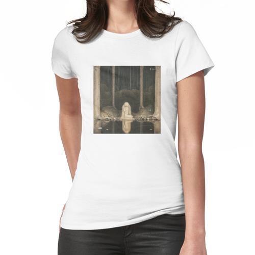 Ännu sitter Tuvstarr kvar och ser ner i vattnet Frauen T-Shirt