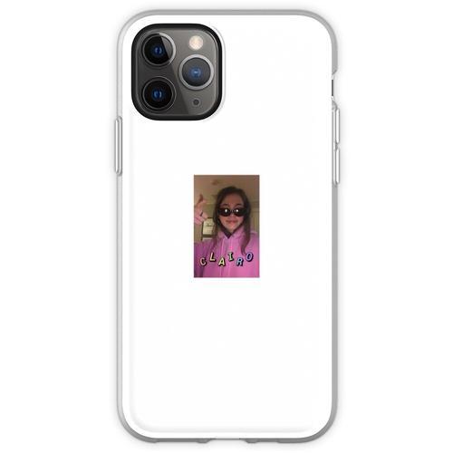 Clairo in einer Brille Flexible Hülle für iPhone 11 Pro