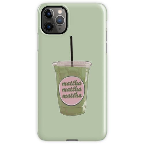 Iced Matcha Matcha Matcha iPhone 11 Pro Max Handyhülle