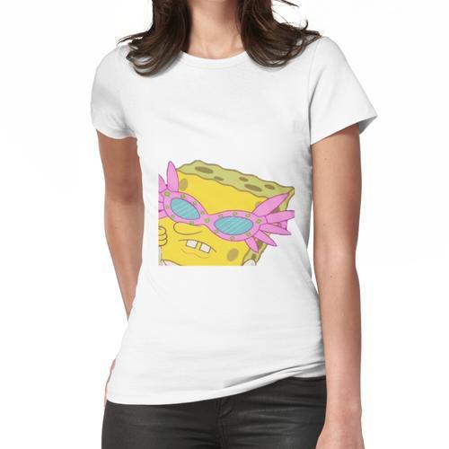 SpongeBob ~ Rosa Brille meme Frauen T-Shirt