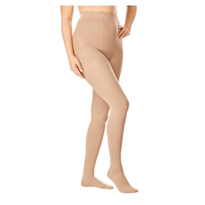 Plus Size Women's 2-Pack Smoothing Tights by Comfort Choice in Nude (Size C/D)
