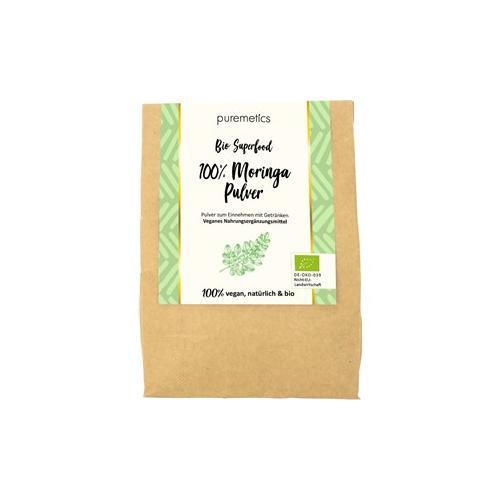 puremetics Pflege Bio Superfoods Moringa-Pulver 200 g