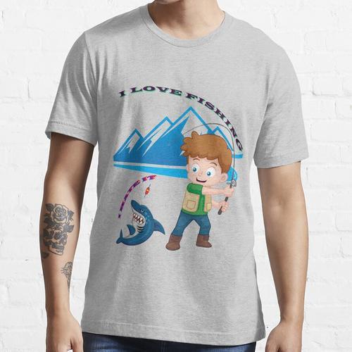 Angeln - Ich liebe Angeln Essential T-Shirt