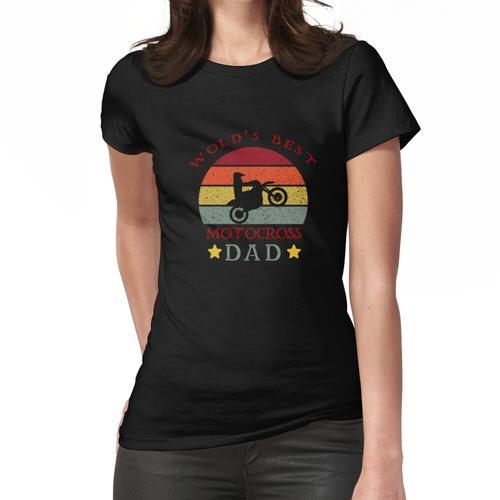 Motocross Dad, lustiger Motorrad Dad, lustiger Motocross Dad Frauen T-Shirt