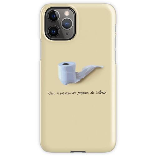 Dies ist kein Toilettenpapier. (Ceci n'est pas du papier de toilette.) iPhone 11 Pro Handyhülle