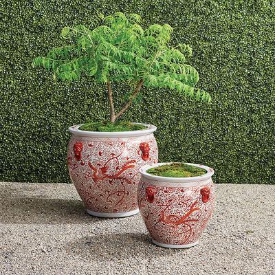 Coral Ming Handpainted Ceramic P...