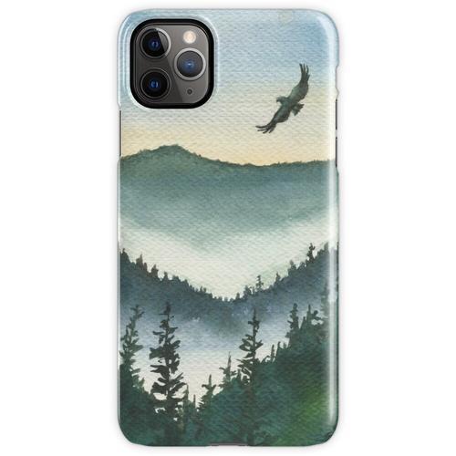 Bergadler Aquarell iPhone 11 Pro Max Handyhülle