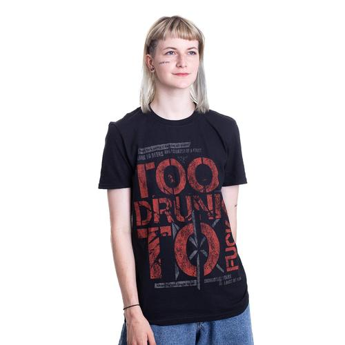Dead Kennedys - Too Drunk - - T-Shirts