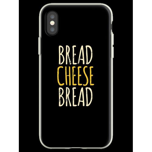 Brot Käse Brot Gegrillter Käse Flexible Hülle für iPhone XS