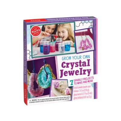 Klutz Grow Your Own Crystal Jewelry Craft Kit