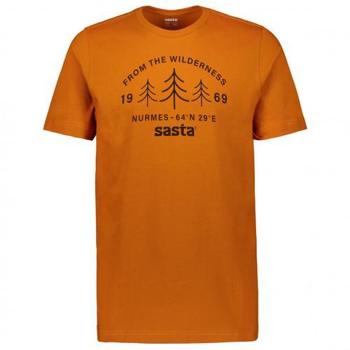 Sasta - Wilderness - T-Shirt Gr L braun/orange
