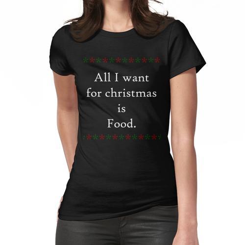 Weihnachtsessen Frauen T-Shirt