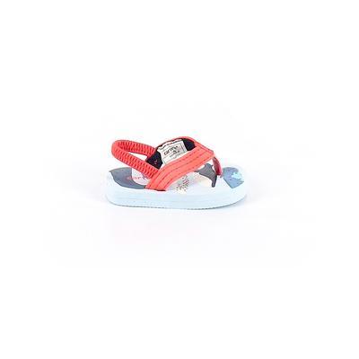 Carter's Sandals: Blue Solid Sho...