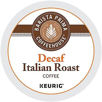 72 Ct Barista Prima Coffeehouse Decaf Italian Roast Coffee 72-Count (3 Boxes Of 24) K-Cup® Pods. Coffee