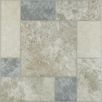 "Nexus 12"" x 12"" Self Adhesive Vinyl Floor Tile by Achim Home Dcor in Marble"