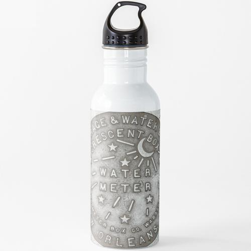 Crescent City Wasserzählerabdeckung Wasserflasche