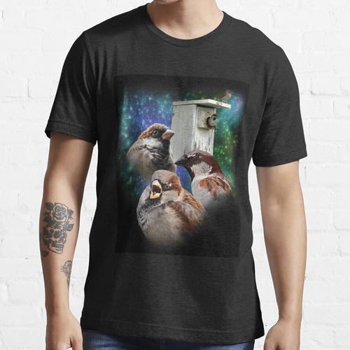 Drei Spatz Nistkasten Essential T-Shirt