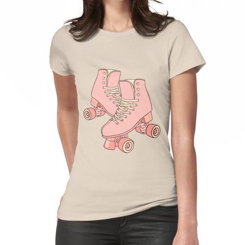 rosa Rollschuhe Frauen T-Shirt
