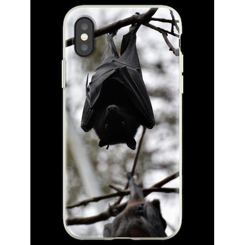 Fledermäuse, Fledermäuse, Fledermäuse Flexible Hülle für iPhone XS