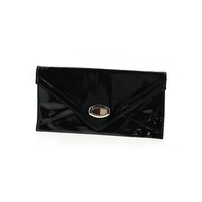 Urban Expressions Clutch: Black Solid Bags