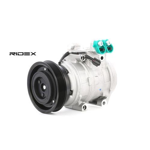 RIDEX Kompressor 447K0197 Klimakompressor,Klimaanlage Kompressor HYUNDAI,KIA,TUCSON JM,SPORTAGE JE_, KM_