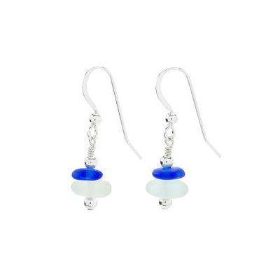 Sea Glass Cairn Earrings