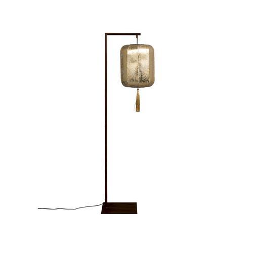 Dutchbone »Suoni« Bodenlampe gold
