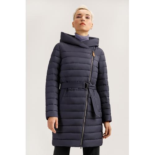 Finn Flare Steppmantel, mit modischem Gürtel blau Damen Steppmäntel Mäntel Jacken Steppmantel
