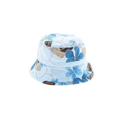 Koala Kids Sun Hat: Blue Floral Accessories - Size 3 Month
