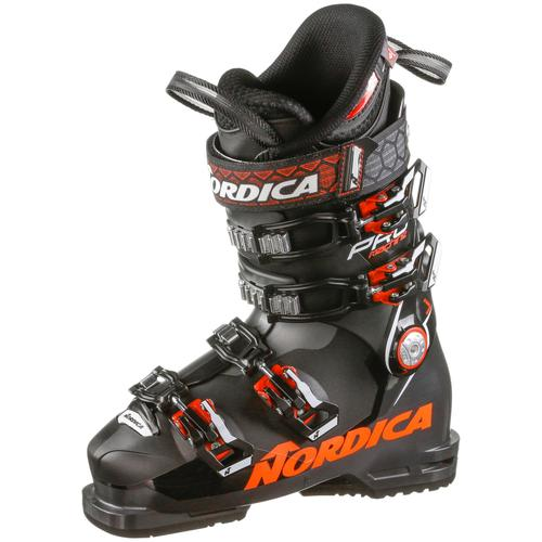 Nordica PRO MACHINE J 90 Skischuhe Kinder in black-red, Größe 23 1/2
