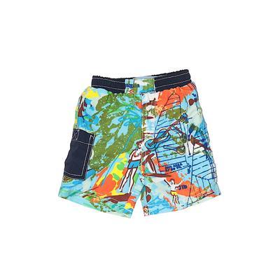 Floatimini Board Shorts: Blue Tr...