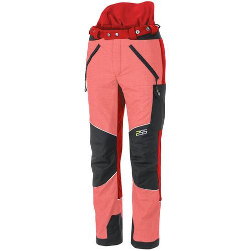 PSS X-treme Vectran Schnittschutzhose Rot/Schwarz, Größe 50