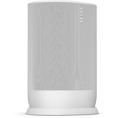 Sonos Move portable amplified wireless music player (lunar white)