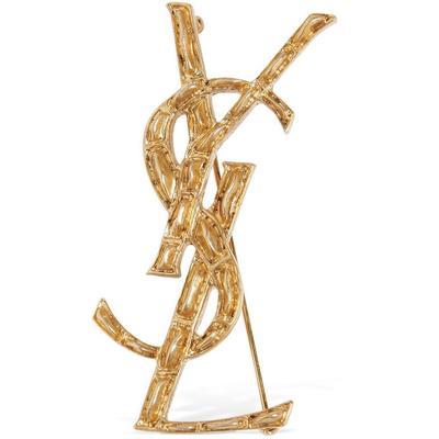 """Saint Laurent Logostecker """"opyum"""""""