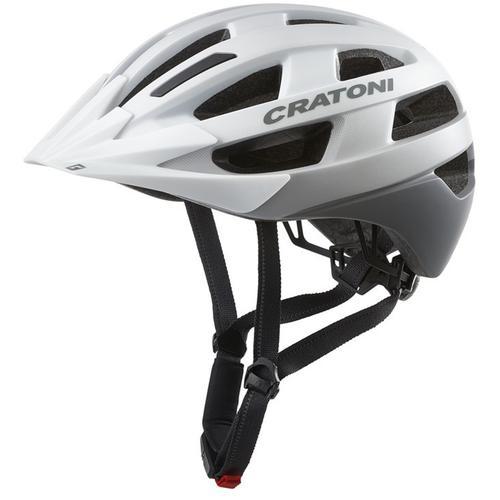 Cratoni Fahrradhelm City-Fahrradhelm Velo-X weiß Rad-Ausrüstung Radsport Sportarten
