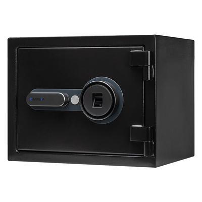 Barska AX13498 0.75 cu ft Biometric Fireproof Safe w/ Fingerprint Lock – Steel, Black
